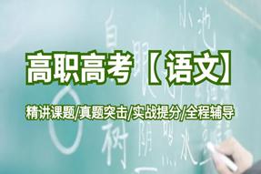 高职3+证书【语文】网络课程