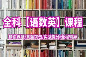 高职3+证书【语数英】直播课程