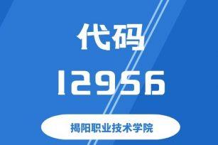 【代码:12956】揭阳职业技术学院